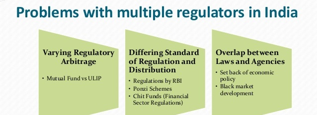 Multiple regulatory authorities